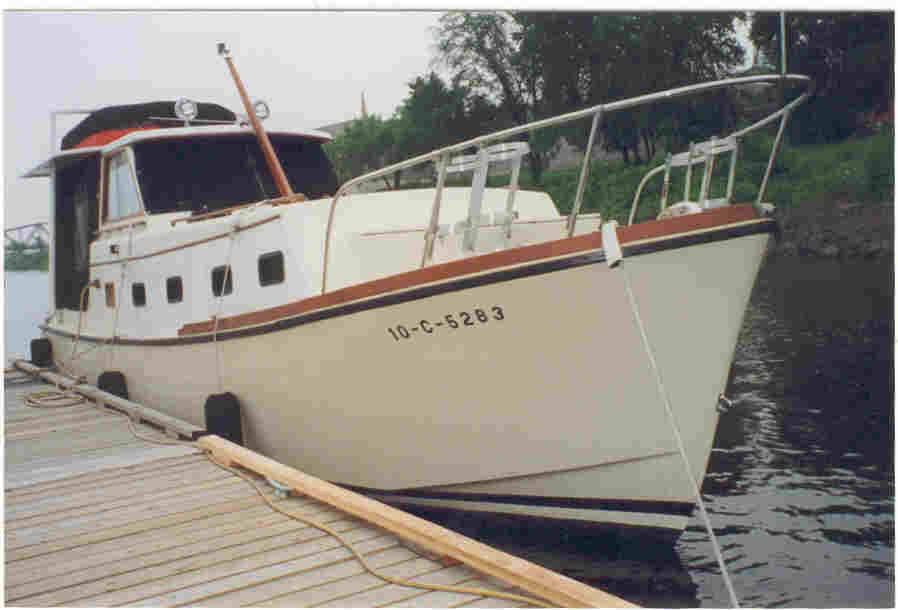 Roughwater Boats Trawlers Ed Monk Monk DesignBoats