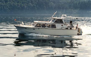 Roughwater Boats, Trawlers, Ed Monk, Monk Design,Boats, Cruisers